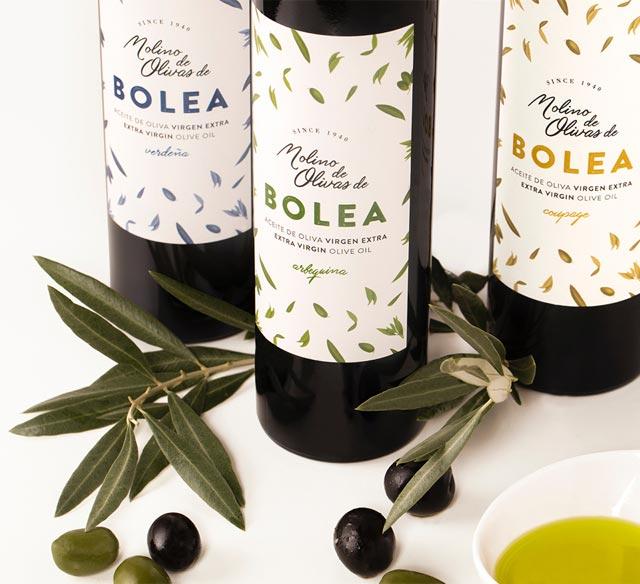 botellas de aceite Bolea